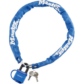 Masterlock 8390 Chain Lock 6 mm x 900 mm blue